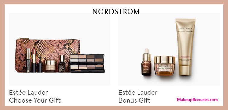 Receive a free 10-pc gift with $100 Estée Lauder purchase