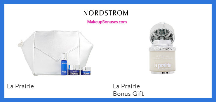 Receive a free 5-pc gift with $600 La Prairie purchase
