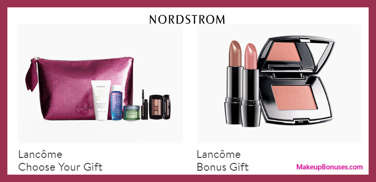 Receive a free 9-pc gift with $75 Lancôme purchase