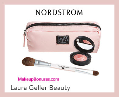Receive a free 3-pc gift with $65 Laura Geller purchase