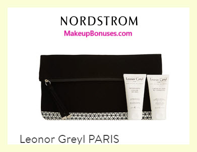 Receive a free 3-pc gift with $50 Leonor Greyl purchase