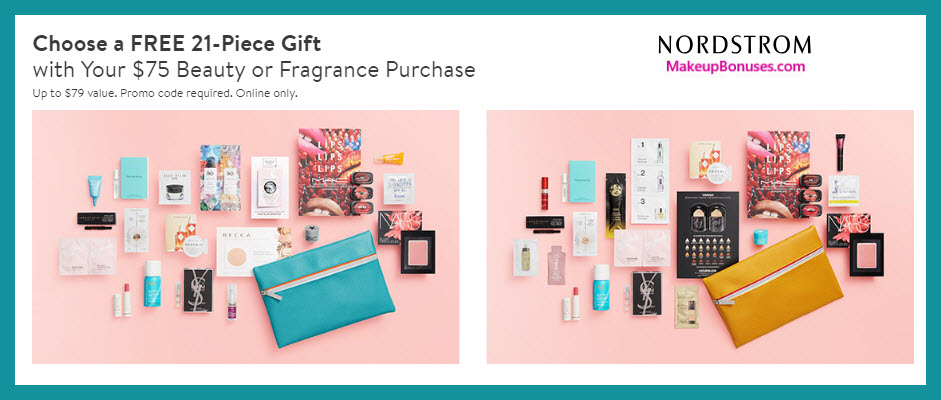 Receive a free 21-pc gift with $75 Multi-Brand purchase