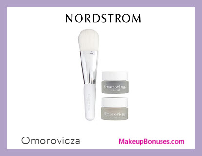 Receive a free 3-pc gift with $250 Omorovicza purchase