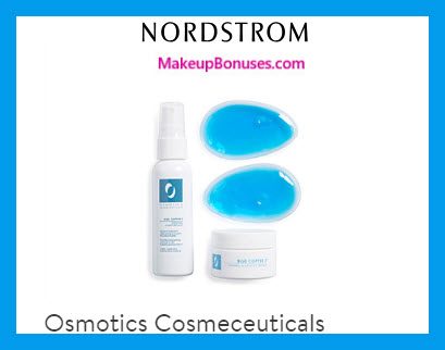 Receive a free 4-pc gift with $125 Osmotics Cosmeceuticals purchase