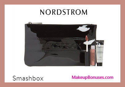 Receive a free 3-pc gift with $40 Smashbox purchase