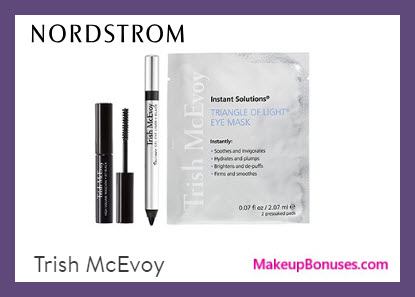 Receive a free 3-pc gift with $100 Trish McEvoy purchase