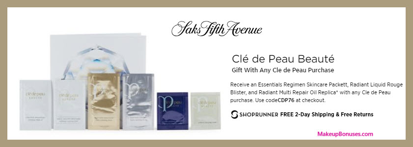 Receive a free 3-pc gift with purchase