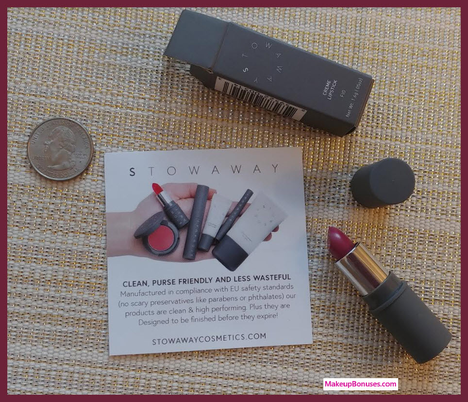 Stowaway FREEl Lipstick MakeupBonuses.com