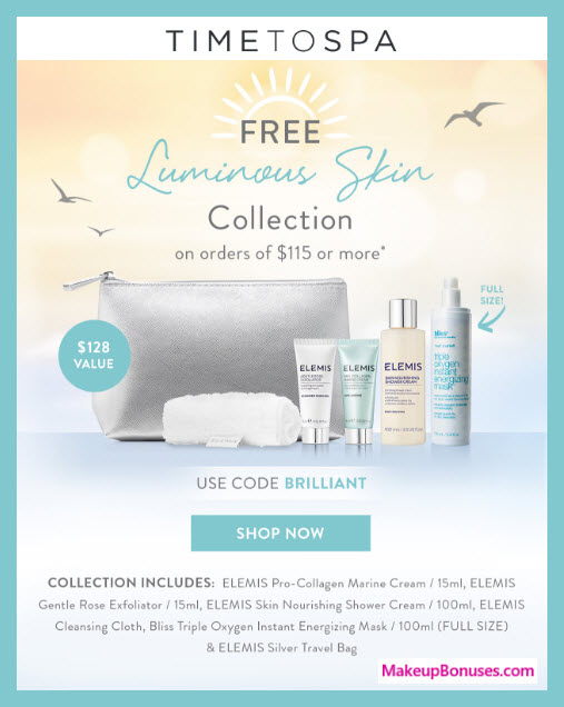 Receive a free 6-pc gift with $115 Multi-Brand purchase
