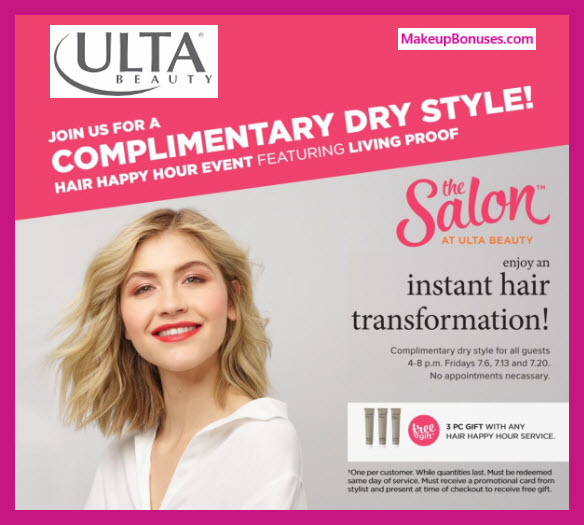 Free Dry Hair Style PLUS 3 Free Gifts