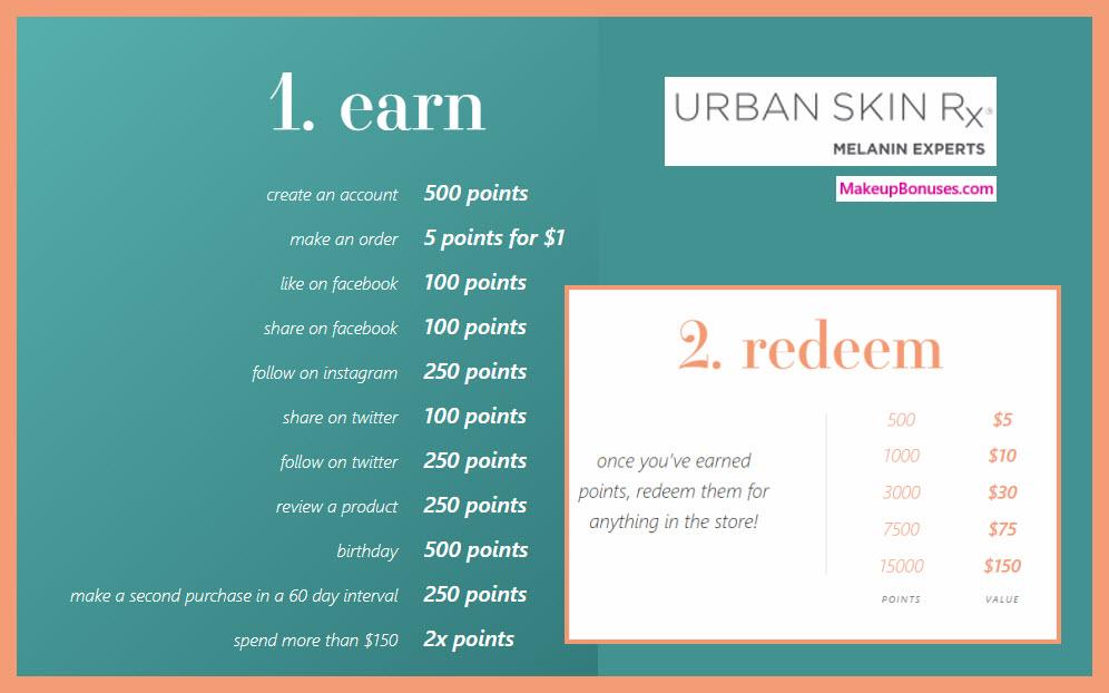 Urban Skin Rx Birthday Gift - MakeupBonuses.com #UrbanSkinRx