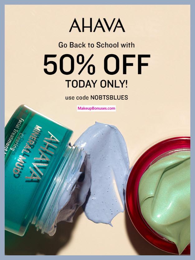 AHAVA Sale - MakeupBonuses.com