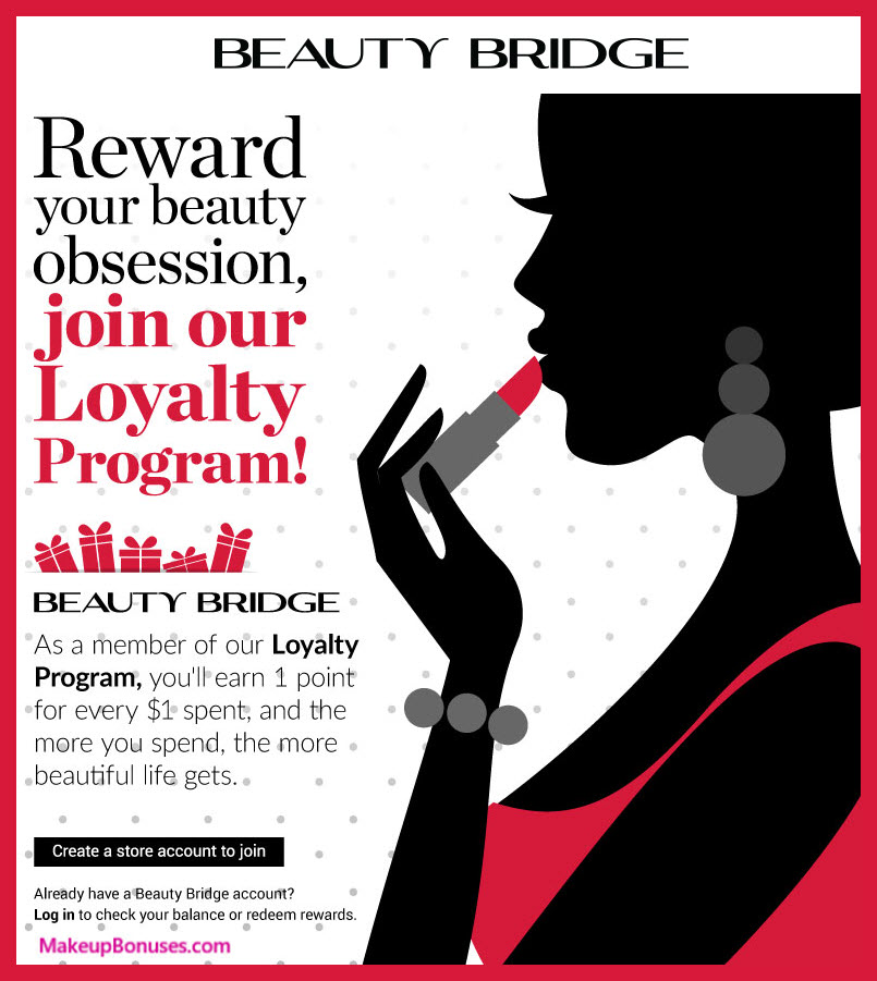 Beauty Bridge Birthday Gift - MakeupBonuses.com #BeautyBridge