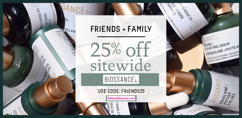 Biossance Sale - MakeupBonuses.com
