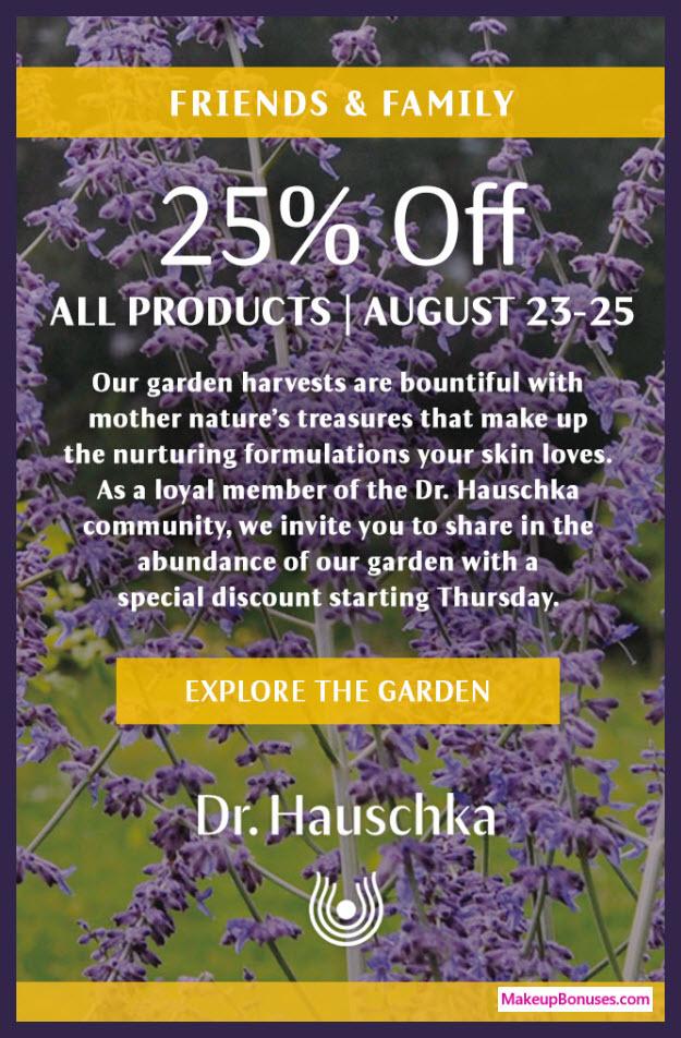 Dr Hauschka Sale - MakeupBonuses.com