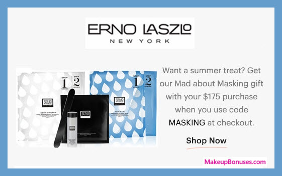 Receive a free 3-pc gift with $175 Erno Laszlo purchase