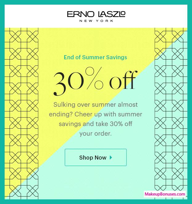 Erno Laszlo Sale - MakeupBonuses.com