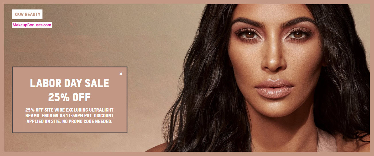 KKW Beauty Sale - MakeupBonuses.com