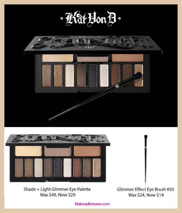Kat Von D Beauty Sale - MakeupBonuses.com