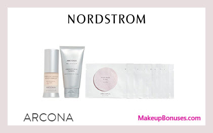 Receive a free 12-pc gift with $100 ARCONA purchase