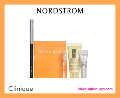 Receive a free 4-pc gift with $39.5 Clinique purchase