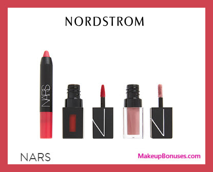 Receive a free 3-pc gift with $85 NARS purchase