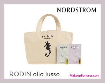 Receive a free 3-pc gift with $150 RODIN olio lusso purchase