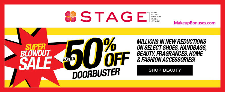 Stage Stores Sale - MakeupBonuses.com