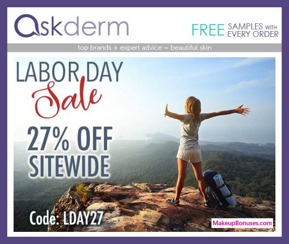 askderm Sale - MakeupBonuses.com