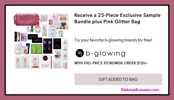 Receive a free 25-pc gift with $125 Multi-Brand purchase