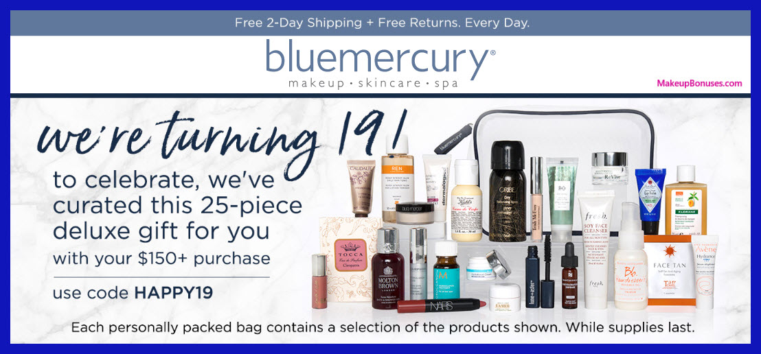 Receive a free 25-pc gift with $150 Multi-Brand purchase