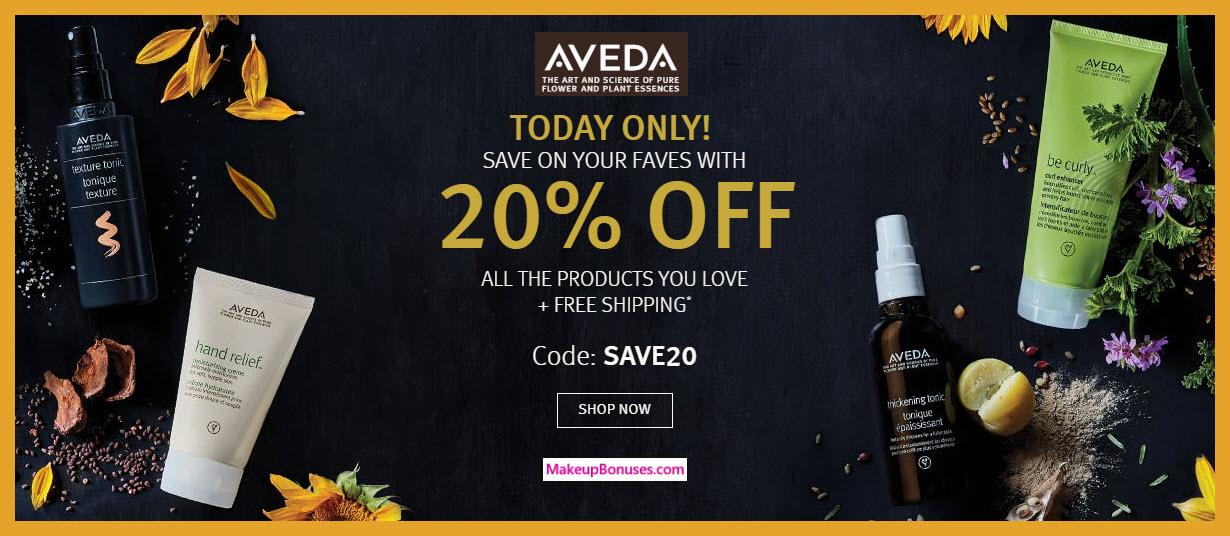 Aveda Sale - MakeupBonuses.com