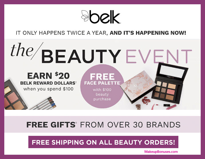 Receive a free 9-pc gift with $100 Multi-Brand purchase #belk