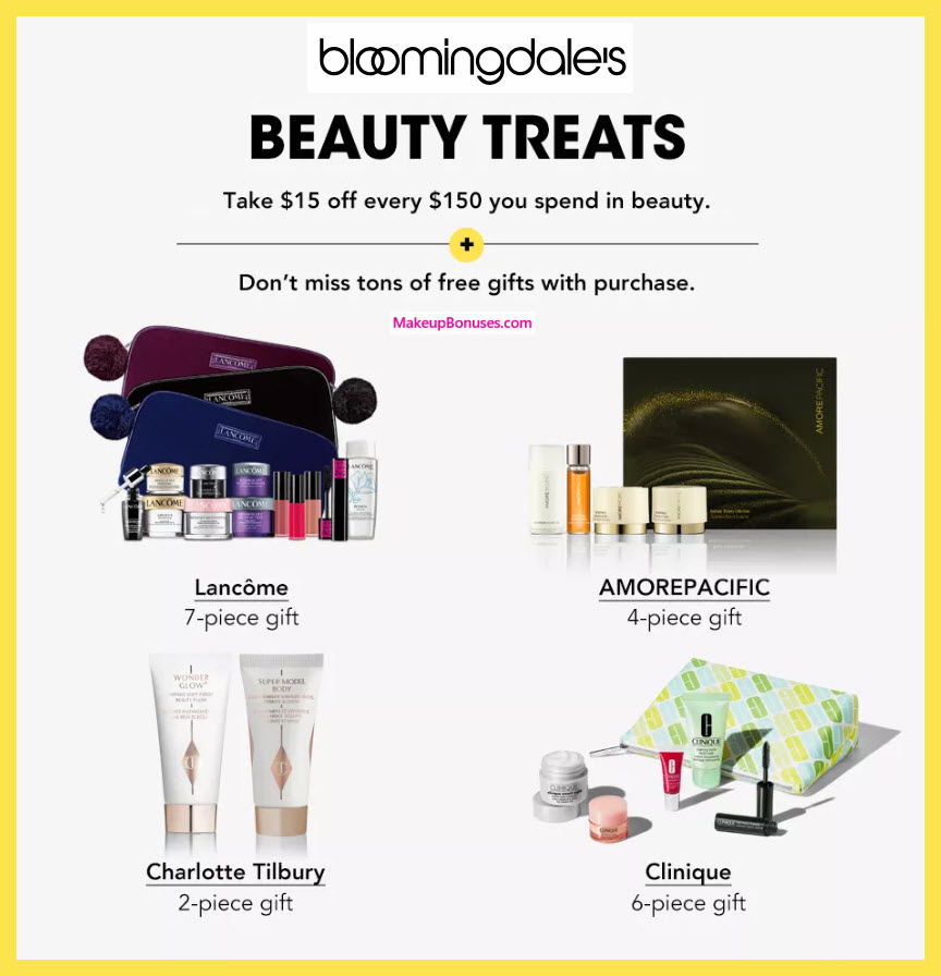 Bloomingdale's Sale - MakeupBonuses.com