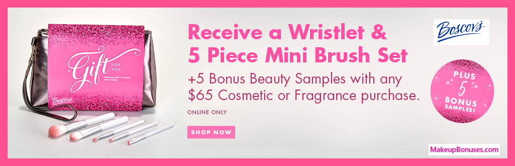 Receive a free 11-pc gift with $65 Multi-Brand purchase