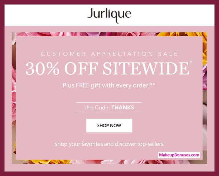Jurlique Sale - MakeupBonuses.com