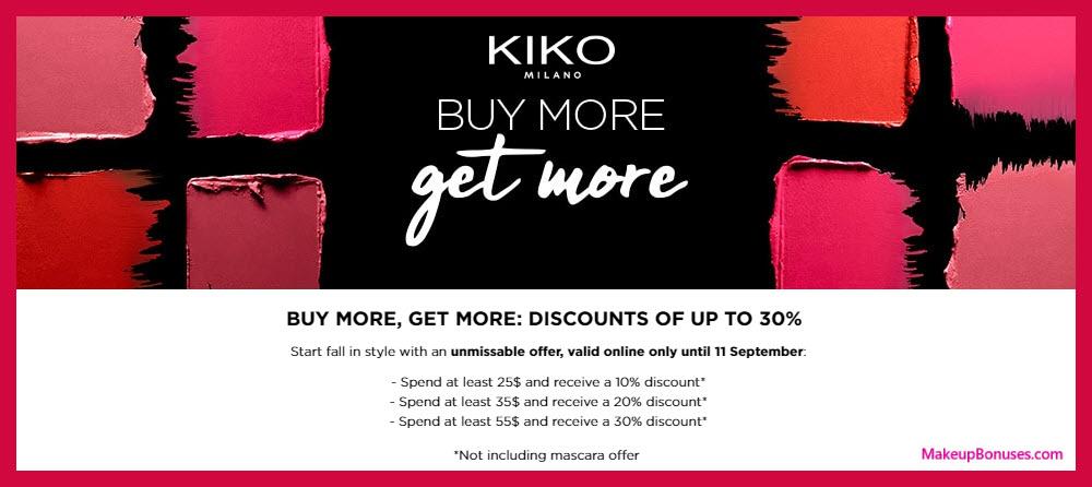 Kiko Milano Sale - MakeupBonuses.com