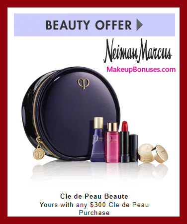 Receive a free 5-pc gift with $300 Clé de Peau Beauté purchase