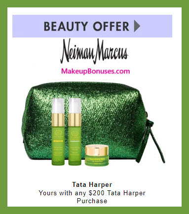 Receive a free 4-pc gift with $200 Tata Harper purchase