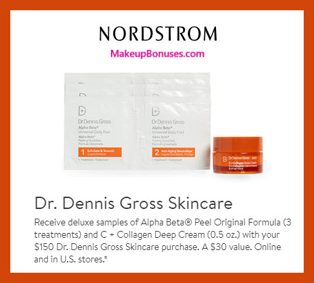 Receive a free 4-pc gift with $150 Dr Dennis Gross purchase #nordstrom