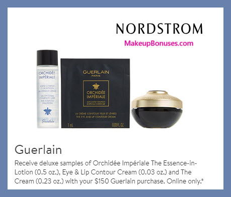 Receive a free 3-pc gift with $150 Guerlain purchase #nordstrom