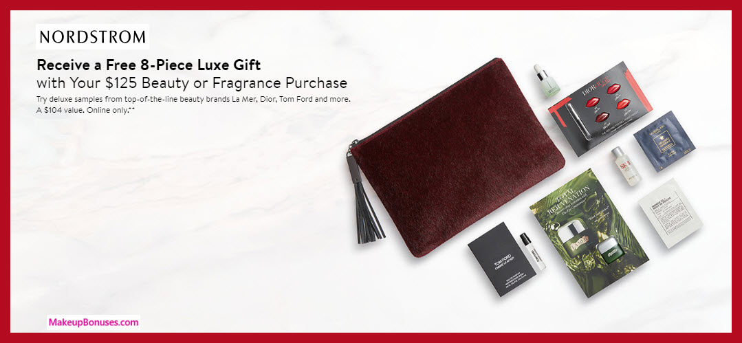 Receive a free 8-pc gift with $125 Multi-Brand purchase