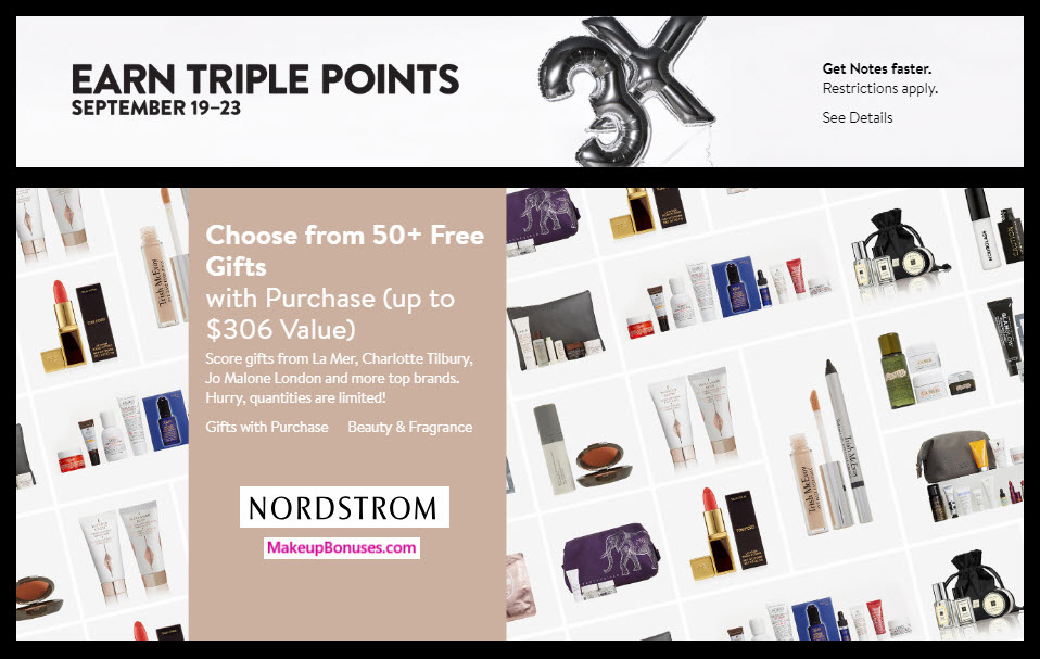 Nordstrom Sale - MakeupBonuses.com