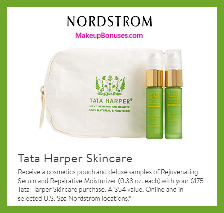 Receive a free 3-pc gift with $175 Tata Harper purchase #nordstrom