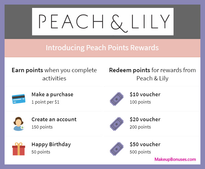 Peach & Lily Birthday Gift - MakeupBonuses.com #PeachAndLily