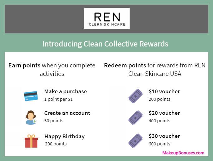 REN Skincare Birthday Gift - MakeupBonuses.com #RENskincare #CrueltyFree