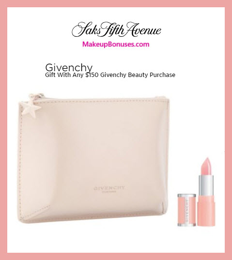 Receive a free 2-pc gift with $150 Givenchy purchase #saks