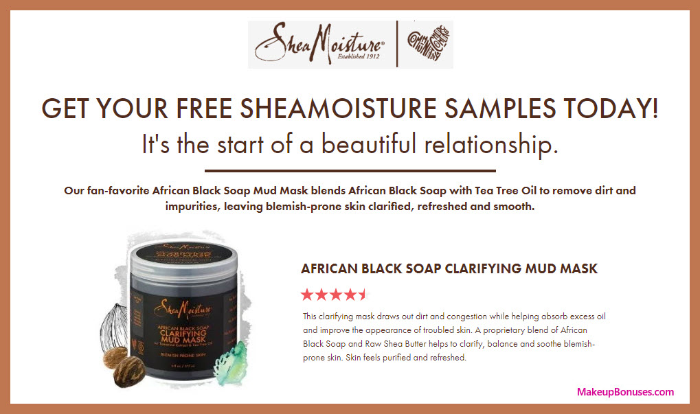 SheaMoisture Free Sample - MakeupBonuses.com