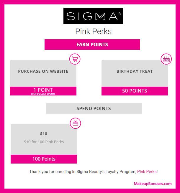Sigma Beauty Birthday Gift - MakeupBonuses.com #SIGMA_BEAUTY