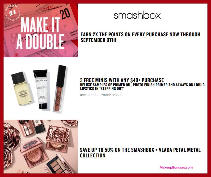 Smashbox Sale - MakeupBonuses.com